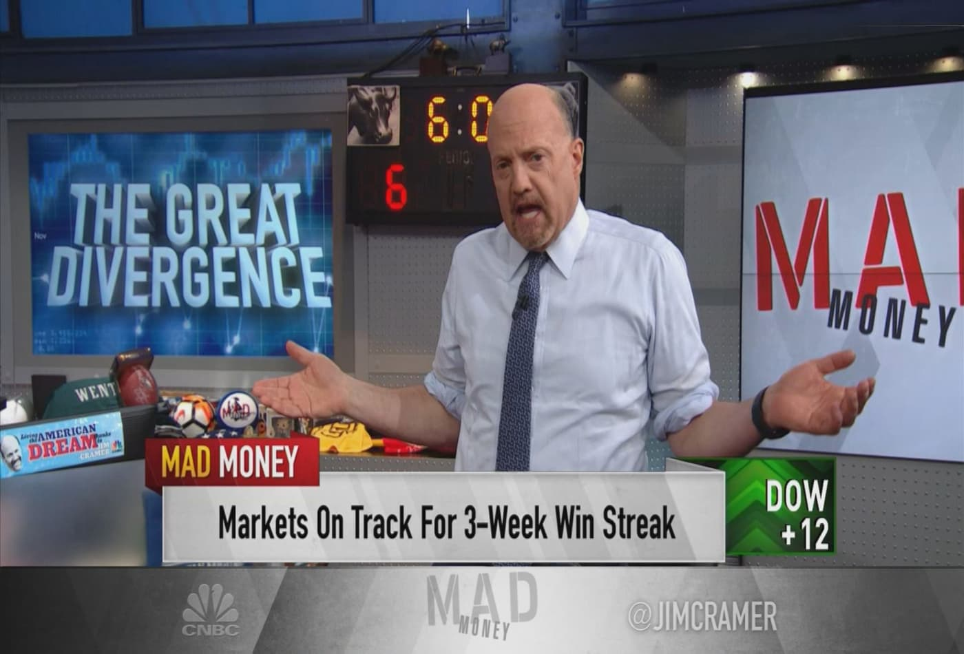 Jim Cramer: The pandemic led to 'one of the greatest wealth transfers in history'