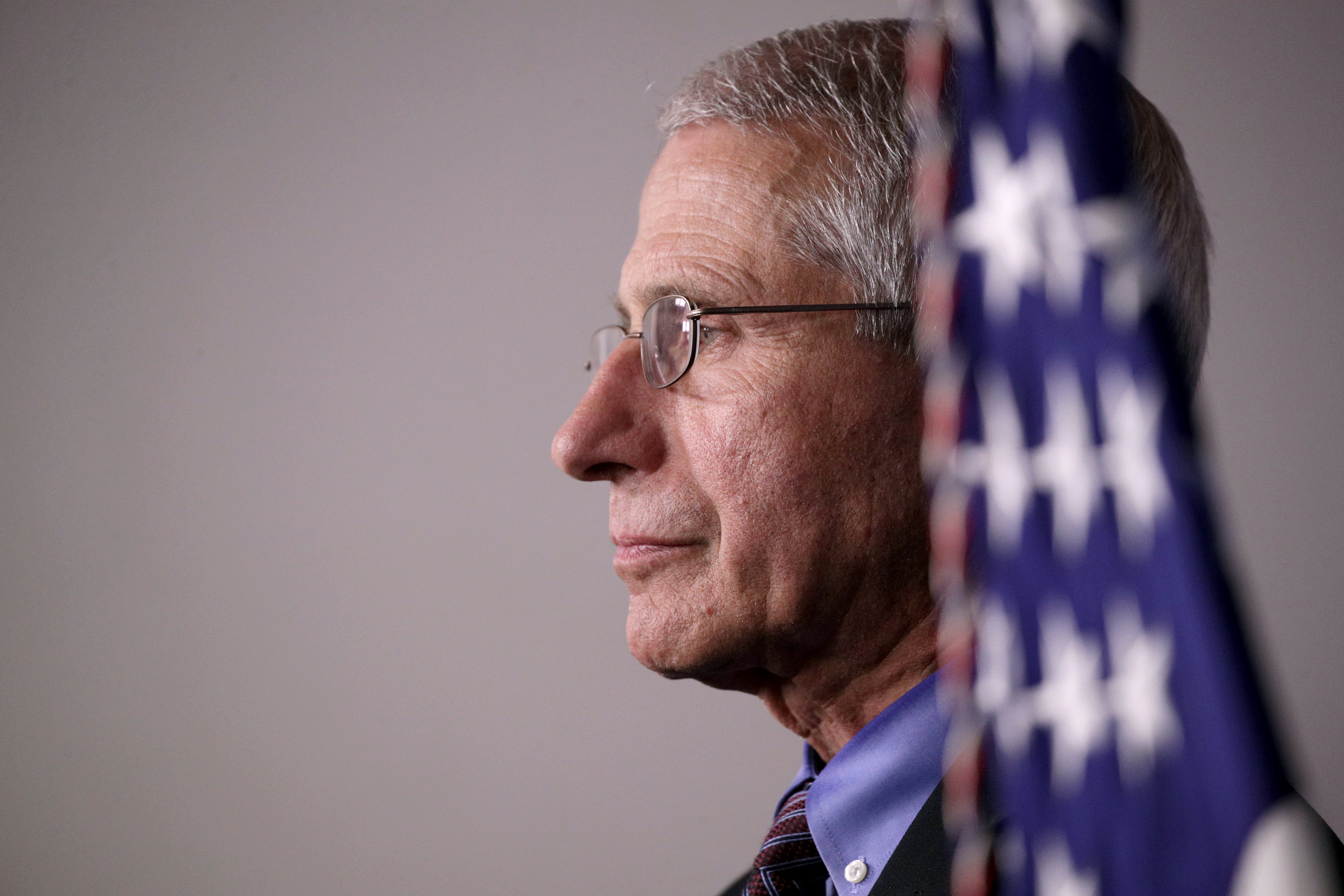 Dr. Anthony Fauci says coronavirus turned 'out to be my worst nightmare' and it 'isn't over'