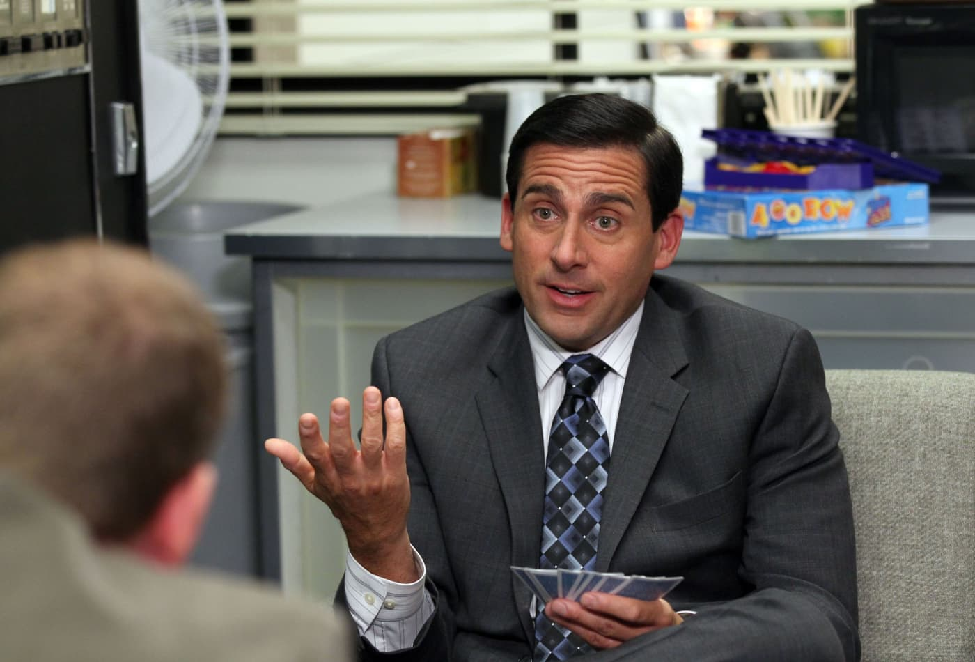 "NBC ""The Office"" with Steve Carrell as Michael Scott"
