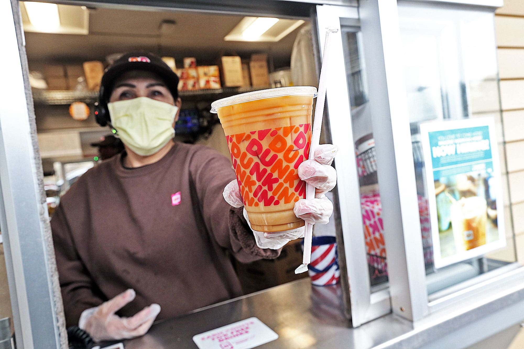 Dunkin' plans to hire 25,000 workers as restaurant industry begins pandemic recovery
