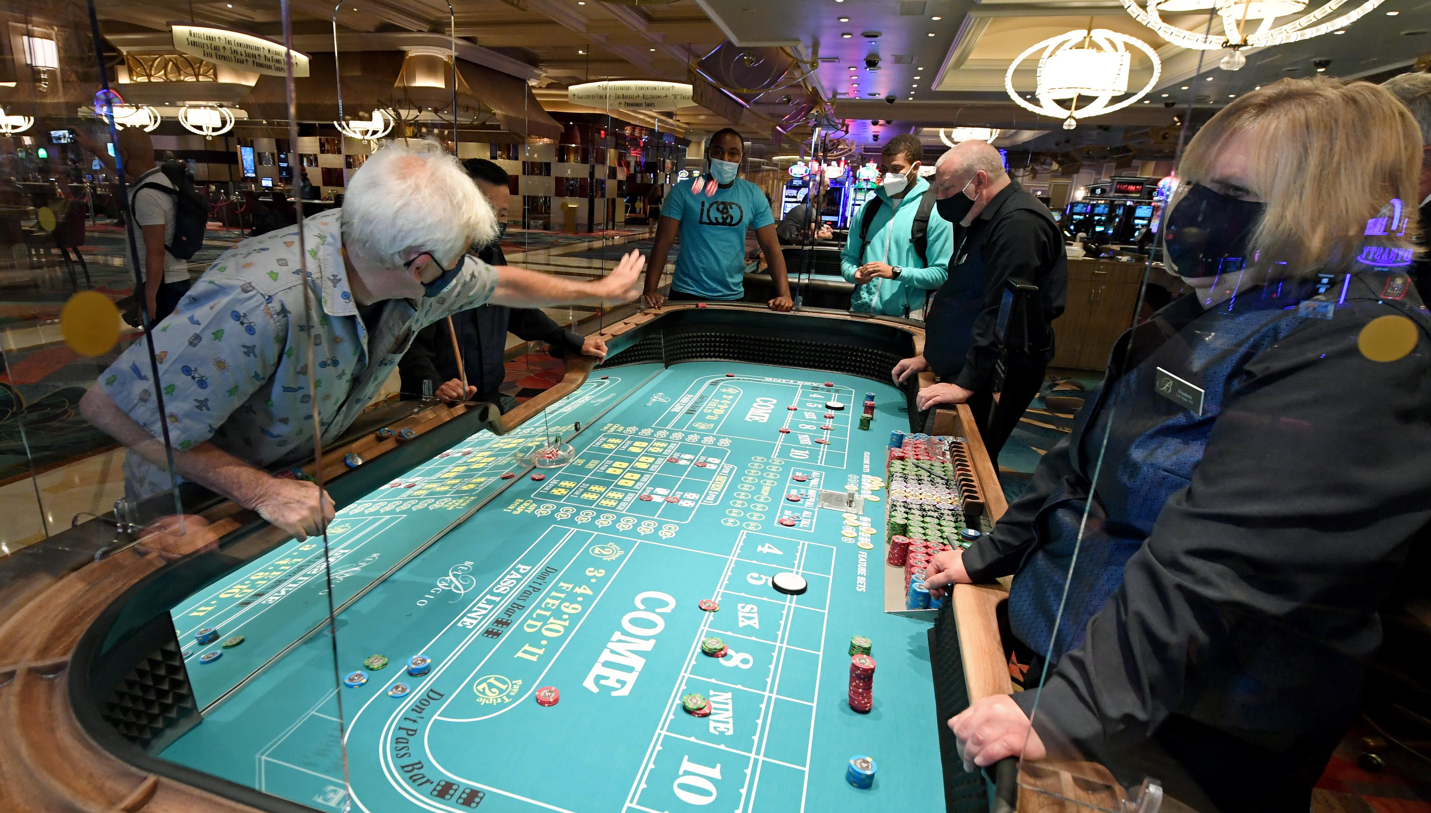 Casinos are seeing strong sales despite social distancing, Circa Resort CEO says