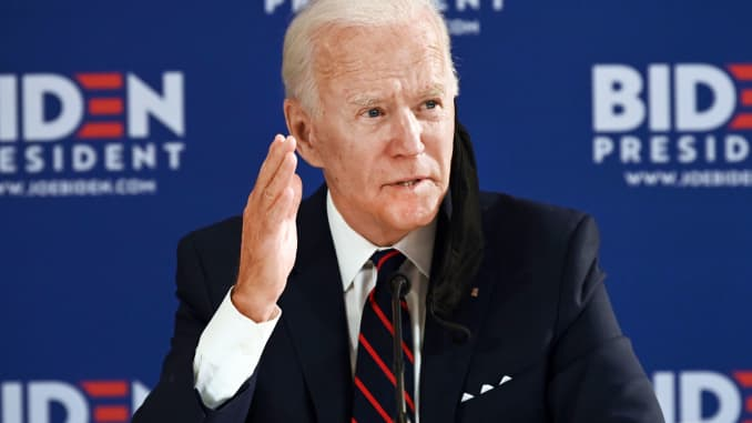 BIDEN, OUTRAGED BY TRUMP'S INACTION