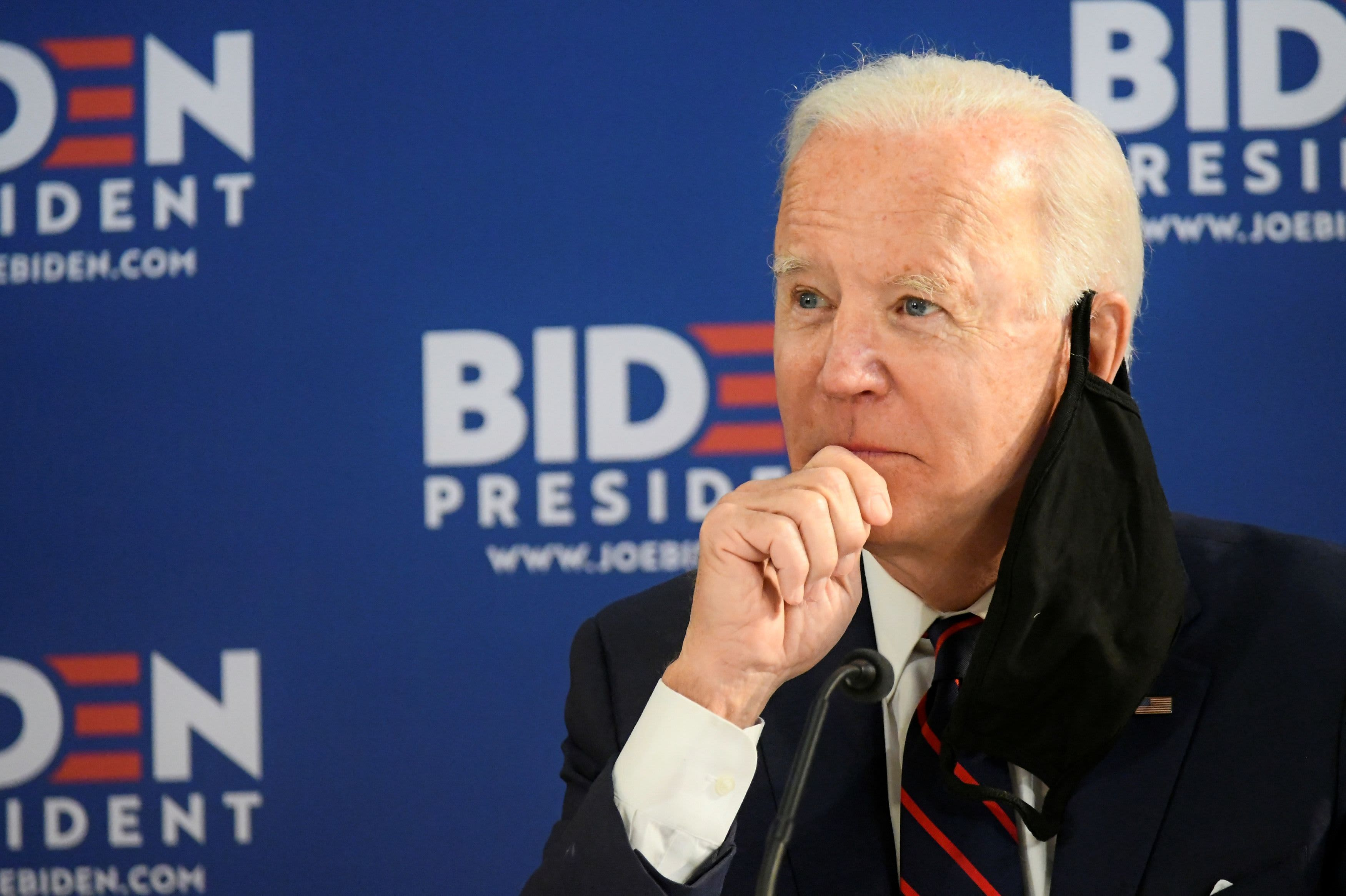 Biden leads Trump in six 2020 swing states, CNBC/Change Research ...