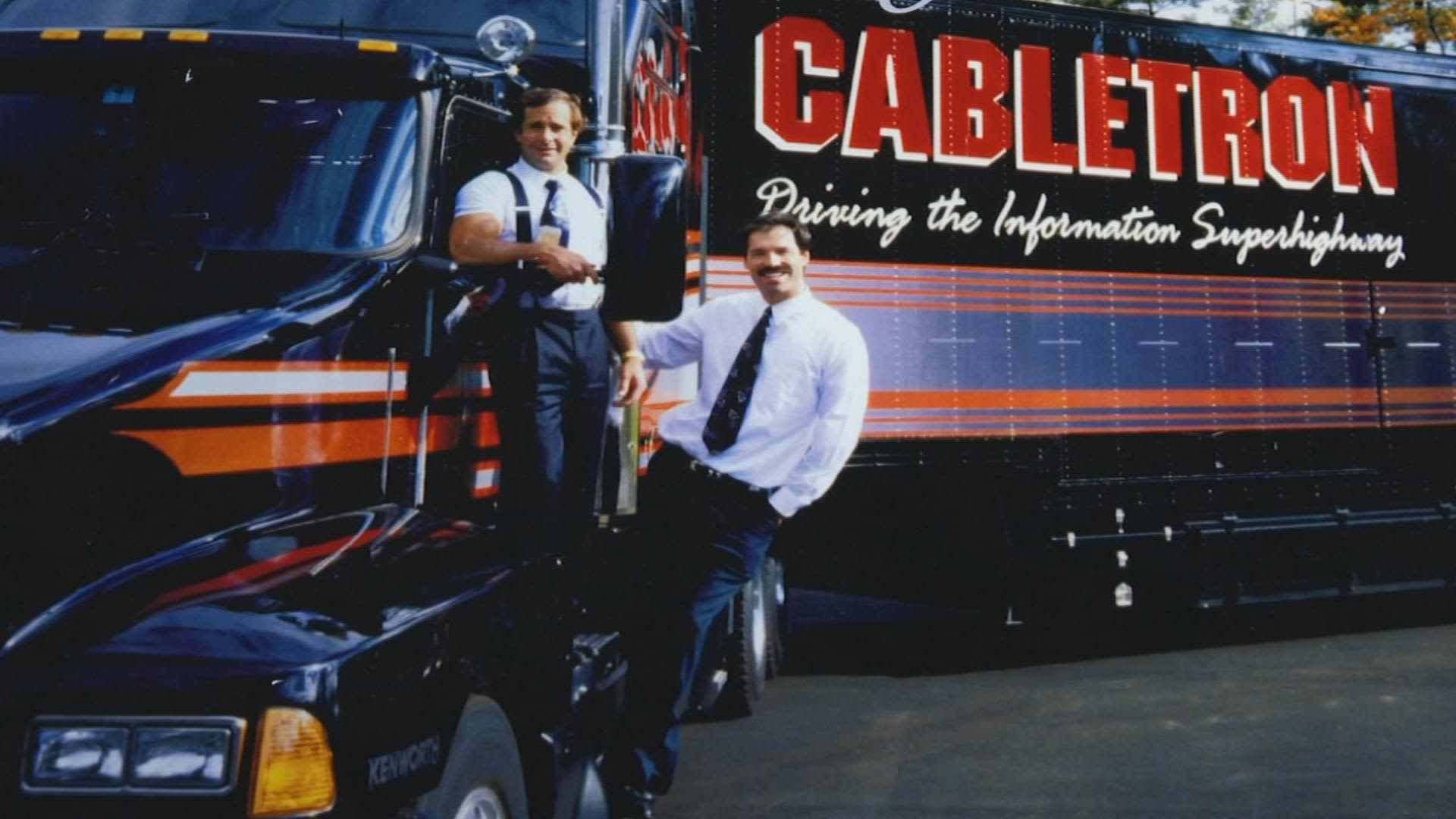 Bob Levine (L) and Craig Benson (R) co-founders of Cabletron Systems