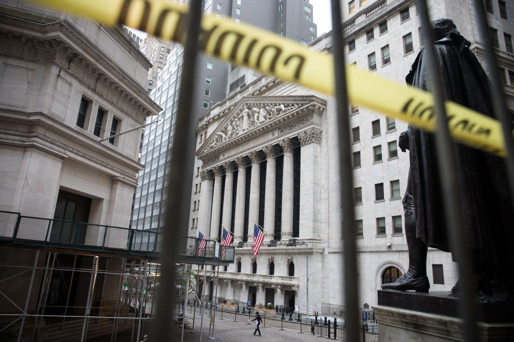 Stock futures flat after a sharp sell-off on Wall Street amid rising virus fears - CNBC thumbnail