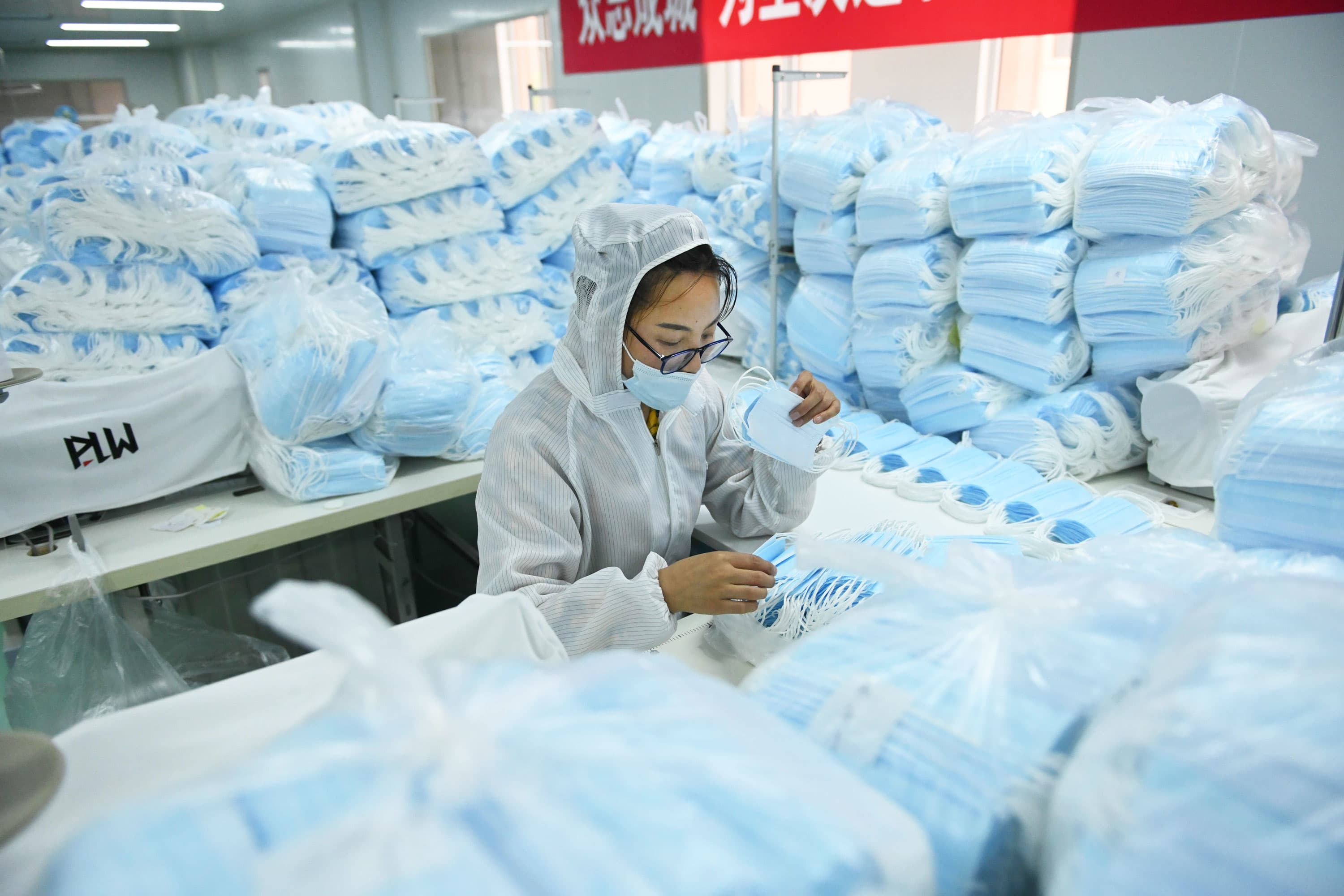 Chinese health product exports on the rise as coronavirus pandemic persists