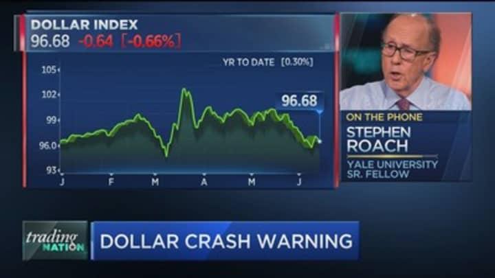 Dollar Crash 'Virtually Inevitable' Over Massive Debt, Asia Expert Warns