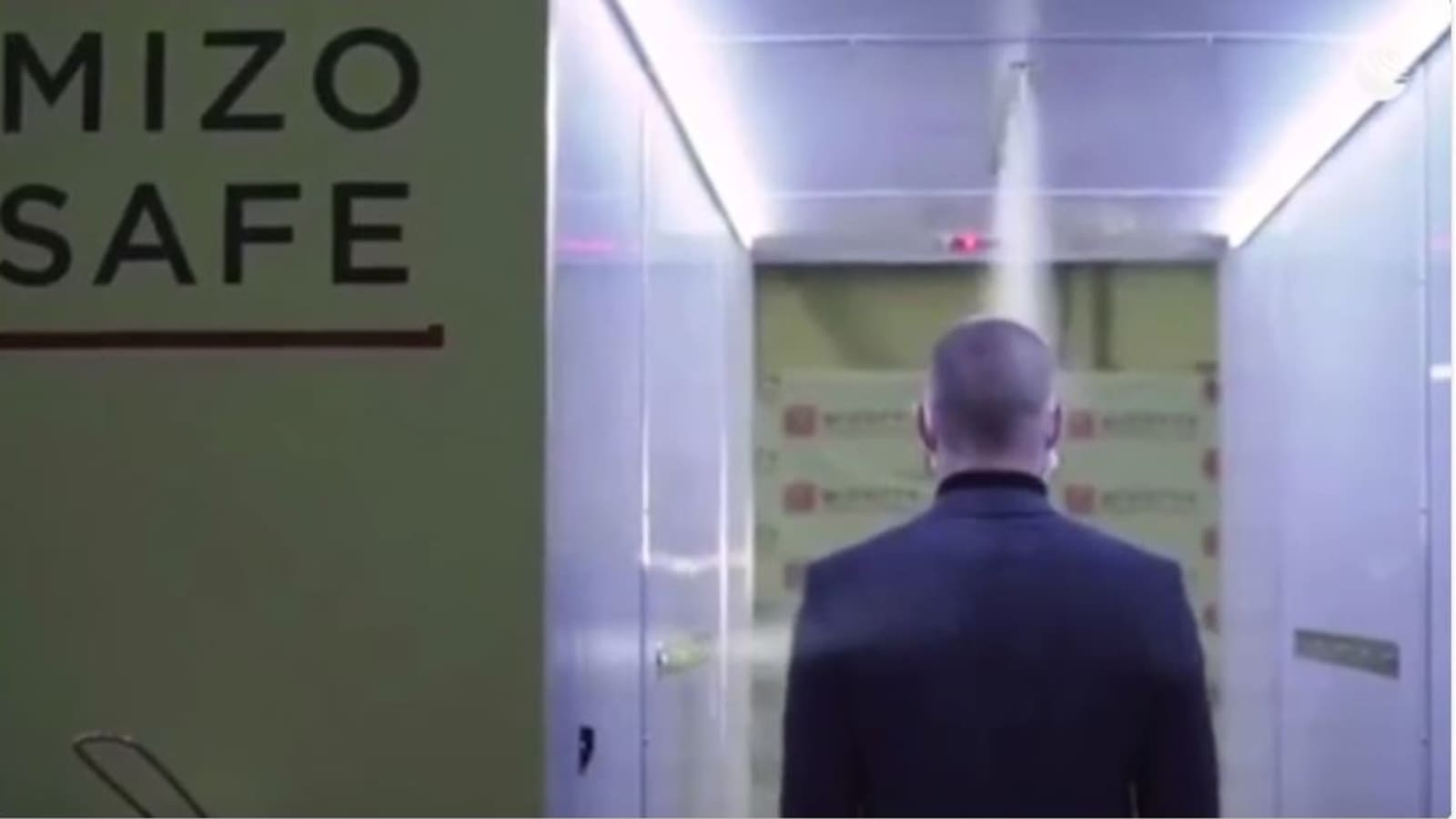 Putin Has A Disinfection Tunnel To Protect Him From The Coronavirus
