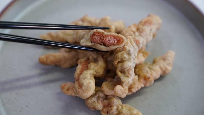 Zhenmeat plant-based crispy pork tenderloin.