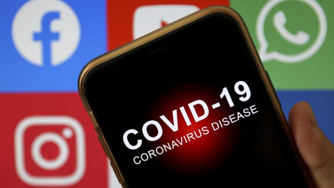 Social media usage linked to belief in coronavirus conspiracy theories