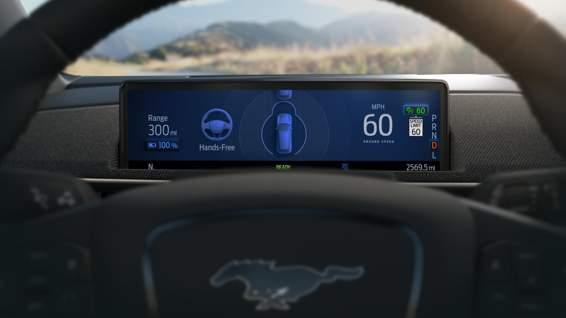Ford says its Active Drive Assist system will allow for hands-free driving on more than 100,000 miles of divided highways in the U.S. and Canada.