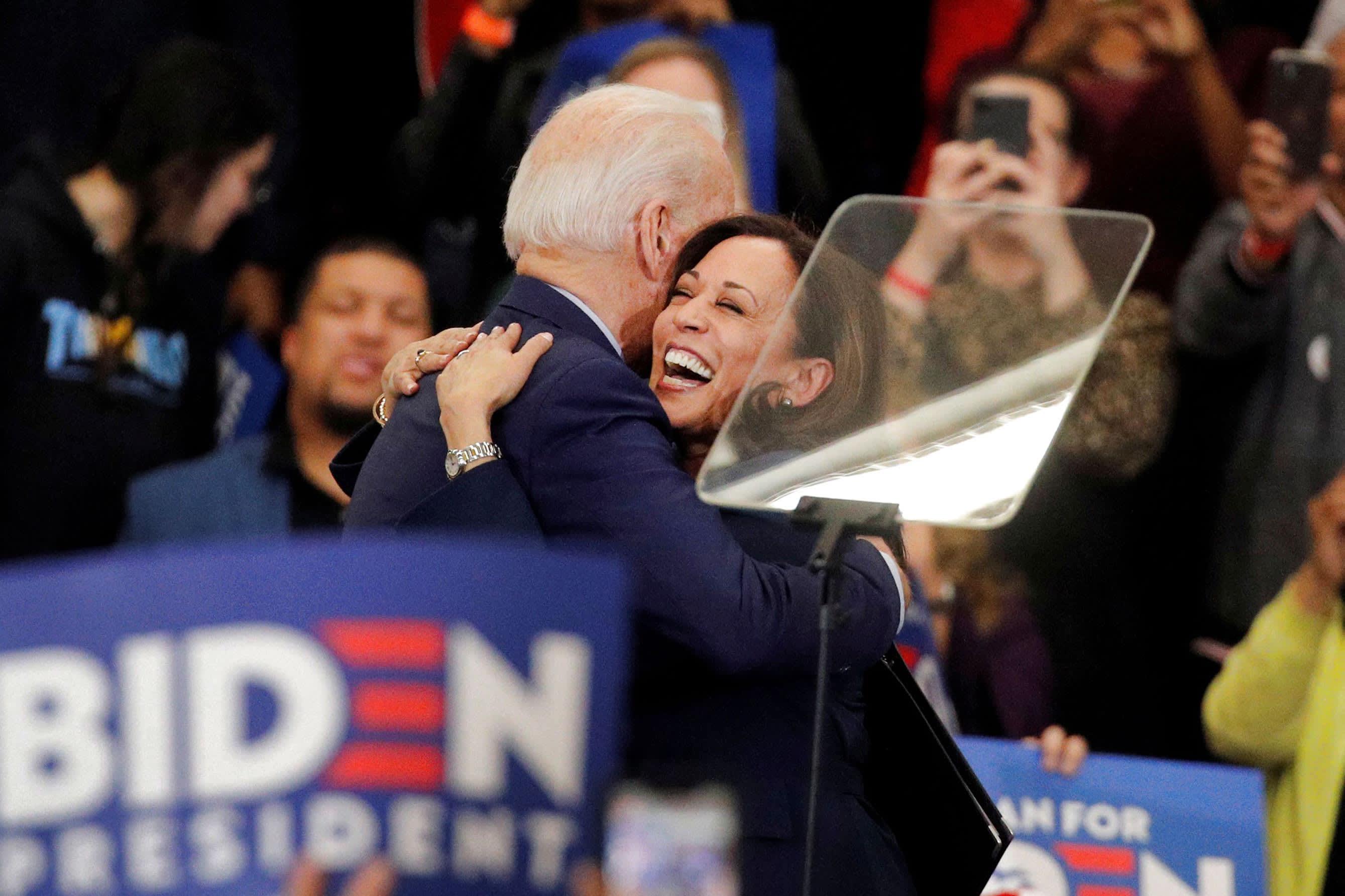Joe Biden Vice President Pick Kamala Harris Is A Leading Contender