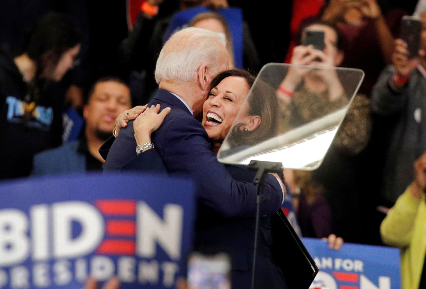 Kamala Harris brings anti-Trump energy to Biden's ticket, but her law enforcement record poses risks