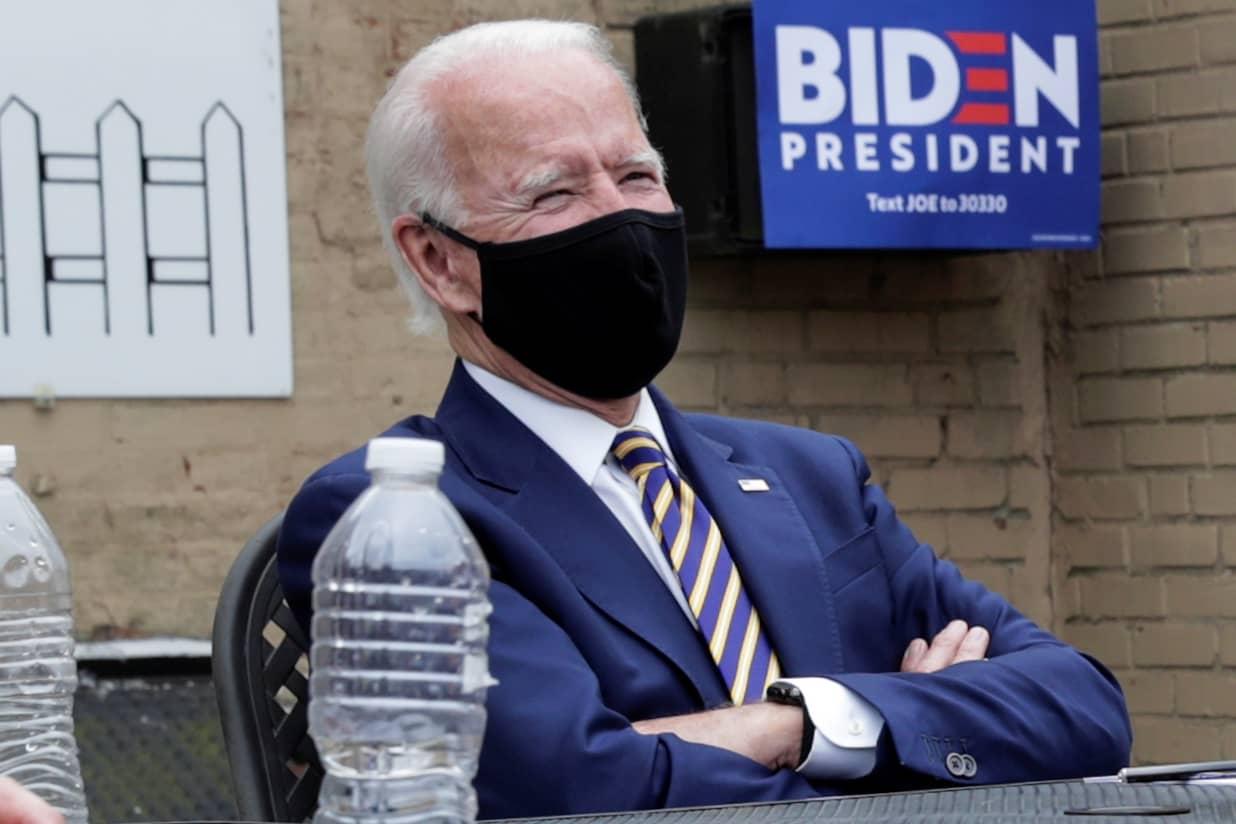 2020 Democratic Convention DNC Milwaukee Joe Biden 24 oz Aluminum Water Bottle