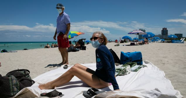 July Fourth weekend will test Americans' discipline as coronavirus cases hit record