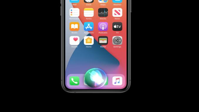 Siri in iOS 14.