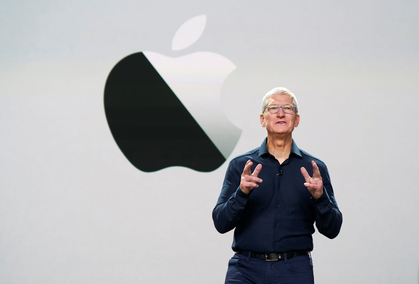 Tim Cook says Apple buys innovation, not competitors