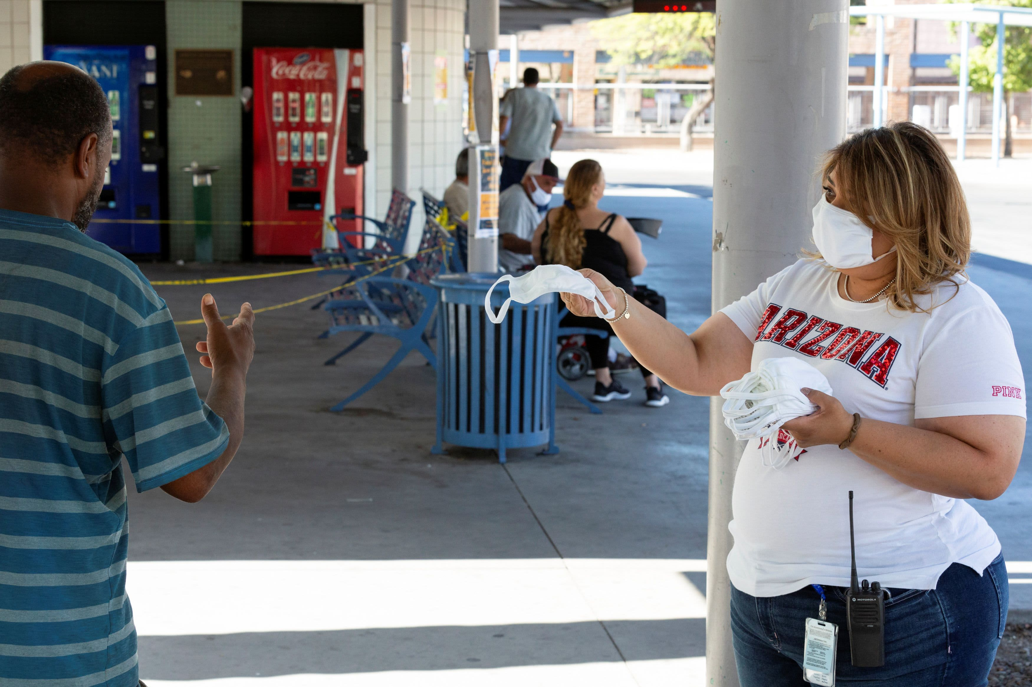 U.S. hits highest single day of coronavirus cases at 45,500, breaking April record 1