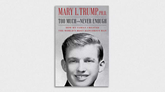 Trumps Lose Bid to Stop Mary Trump From Publishing Tell-All Book About the President and Family as Judge Dismisses Petition for a Protective Order Saying Their Claims are 'Fatally Defective'