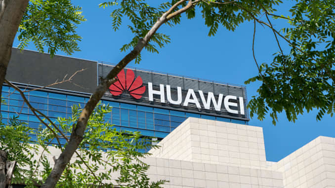 The R&D center on cloud computing and intelligence technology of Huawei, located at China-Singapore Eco-City in Tianjin Binhai new area.