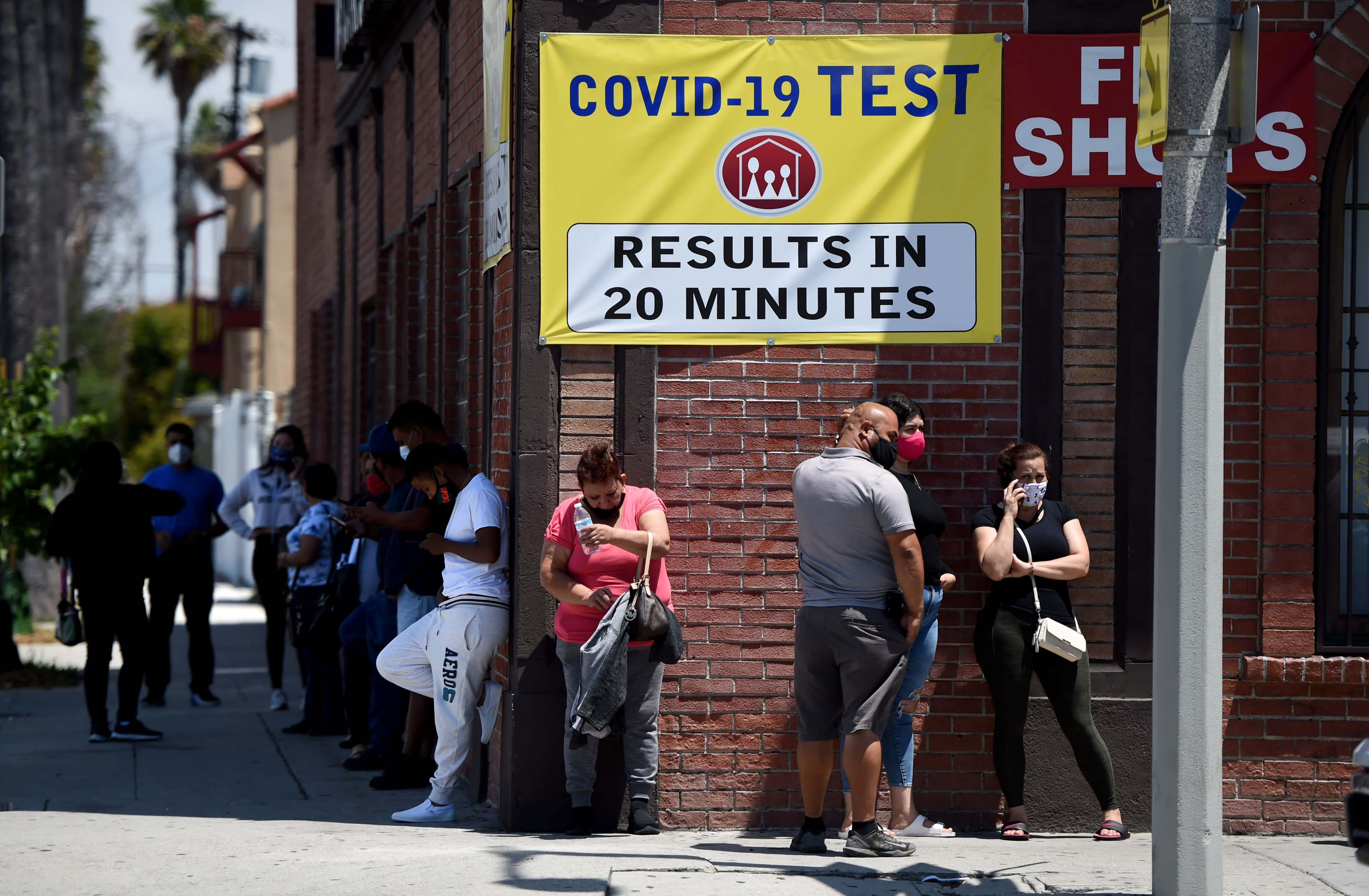 US reports second-highest day of new coronavirus cases as Arizona, California set new records