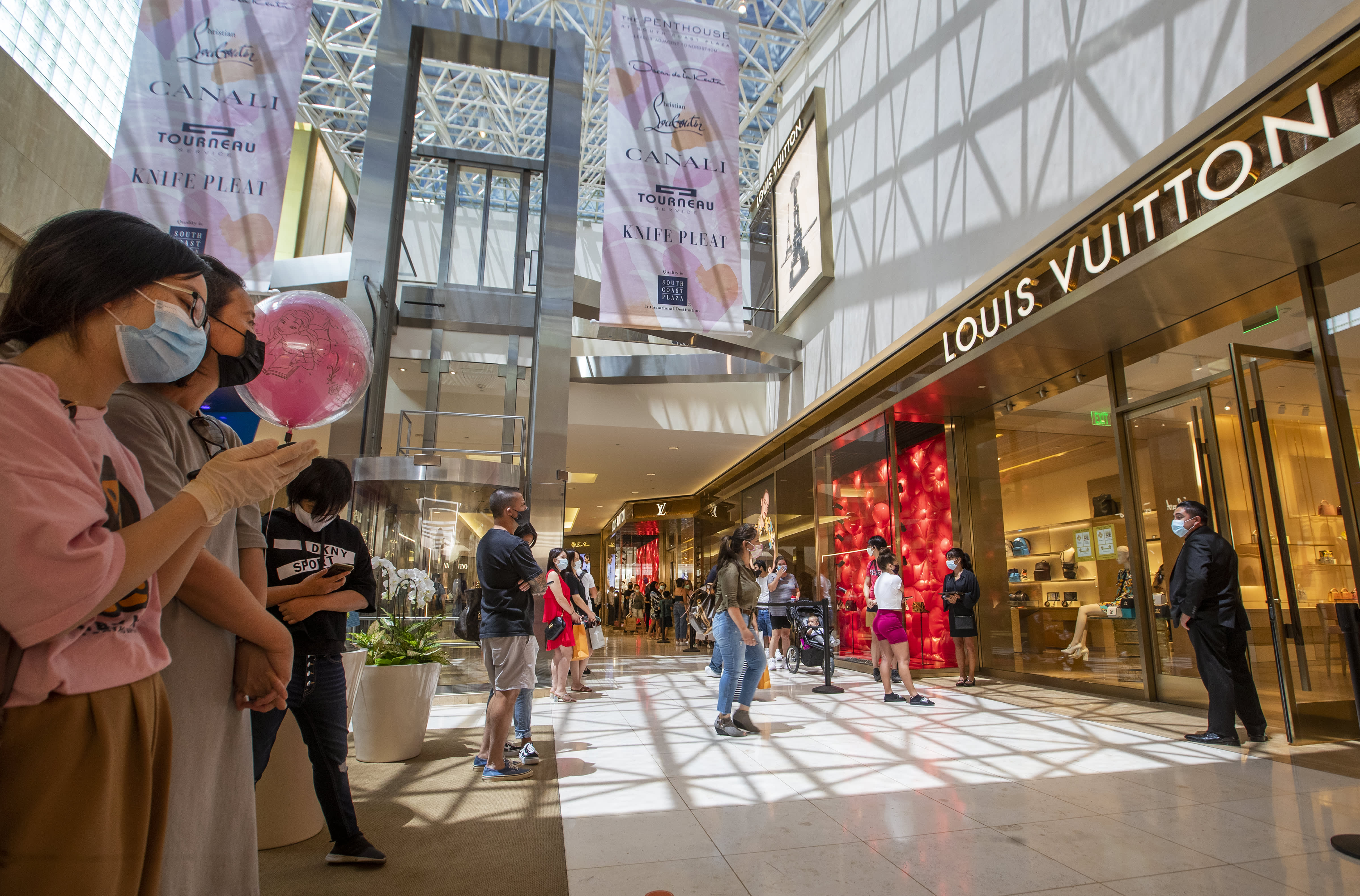 Louis Vuitton-owner LVMH believes the future of retail will be mostly in store