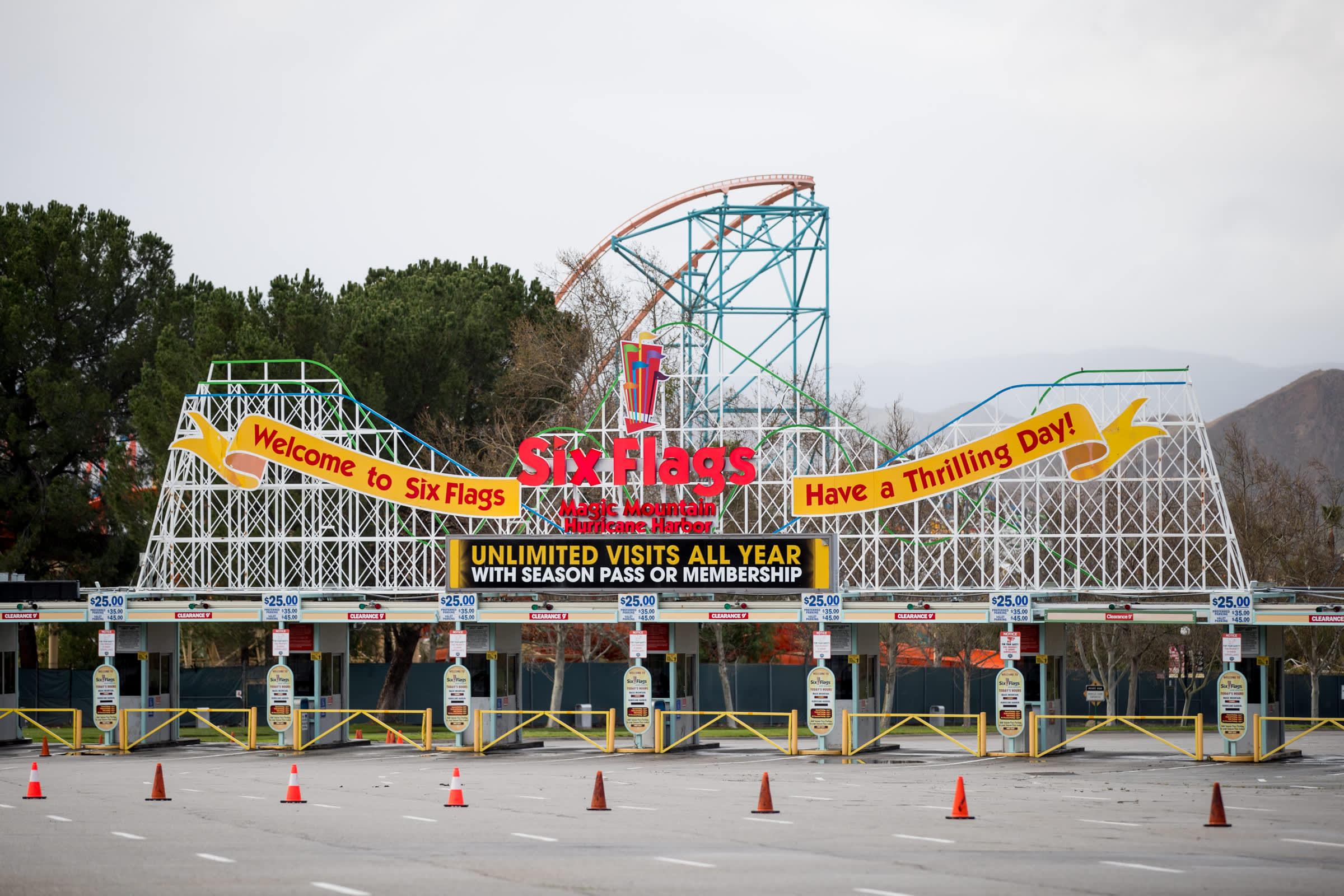 How Six Flags plans to survive coronavirus
