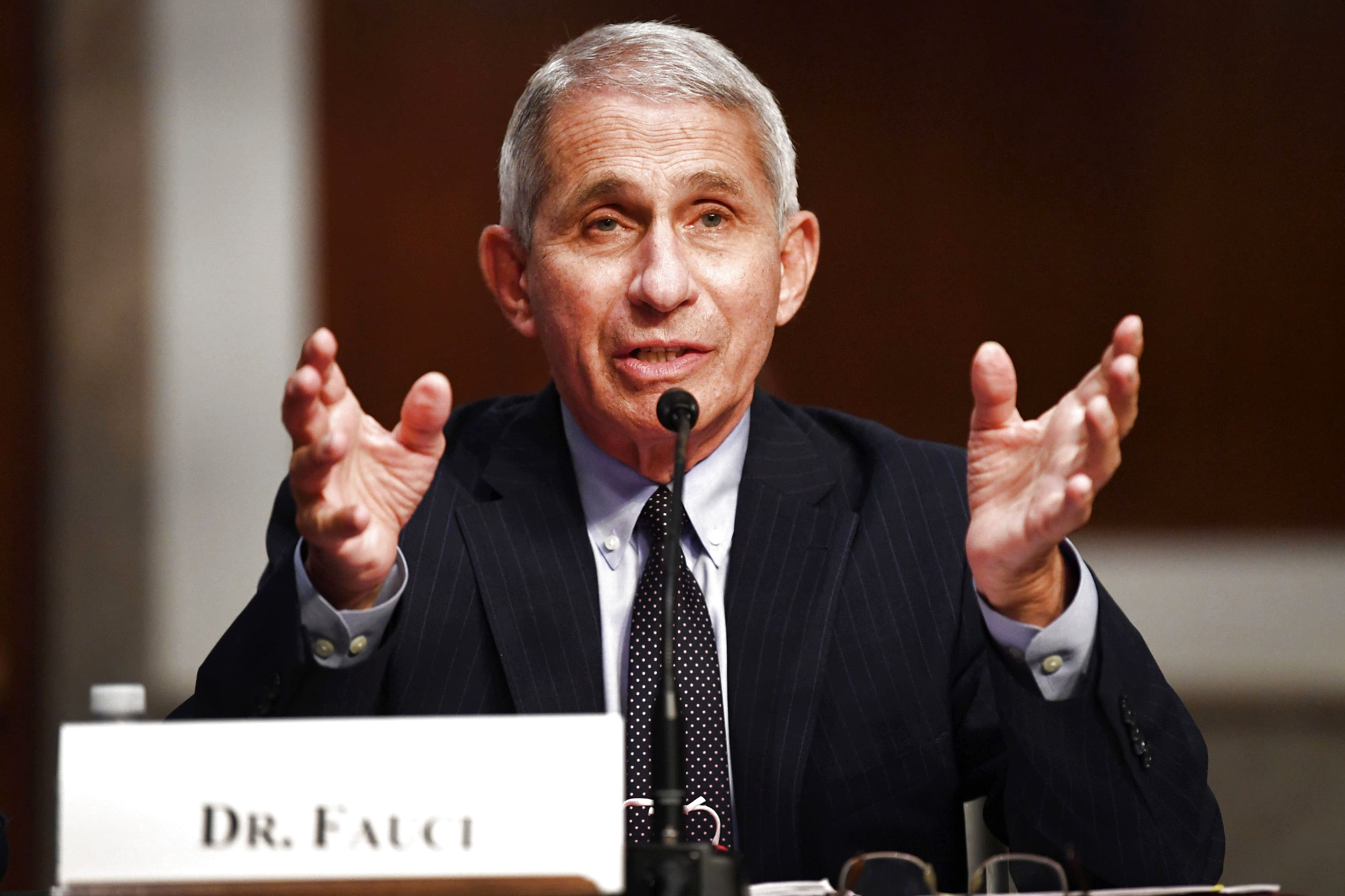 Fauci tells Congress 'it might take some time' before general public gets a coronavirus vaccine