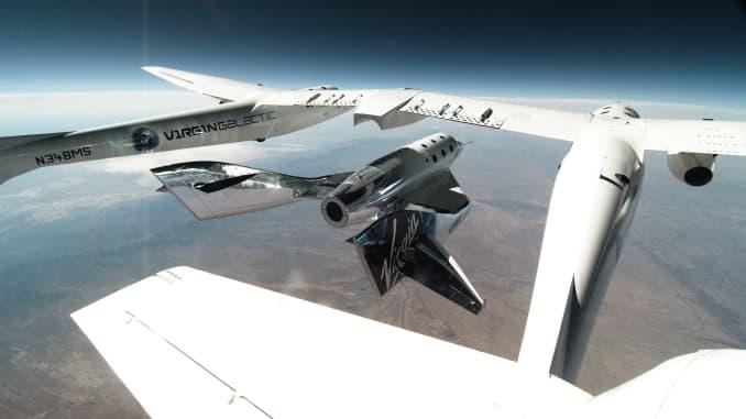First Look inside Virgin Galactic's Luxurious Spaceship