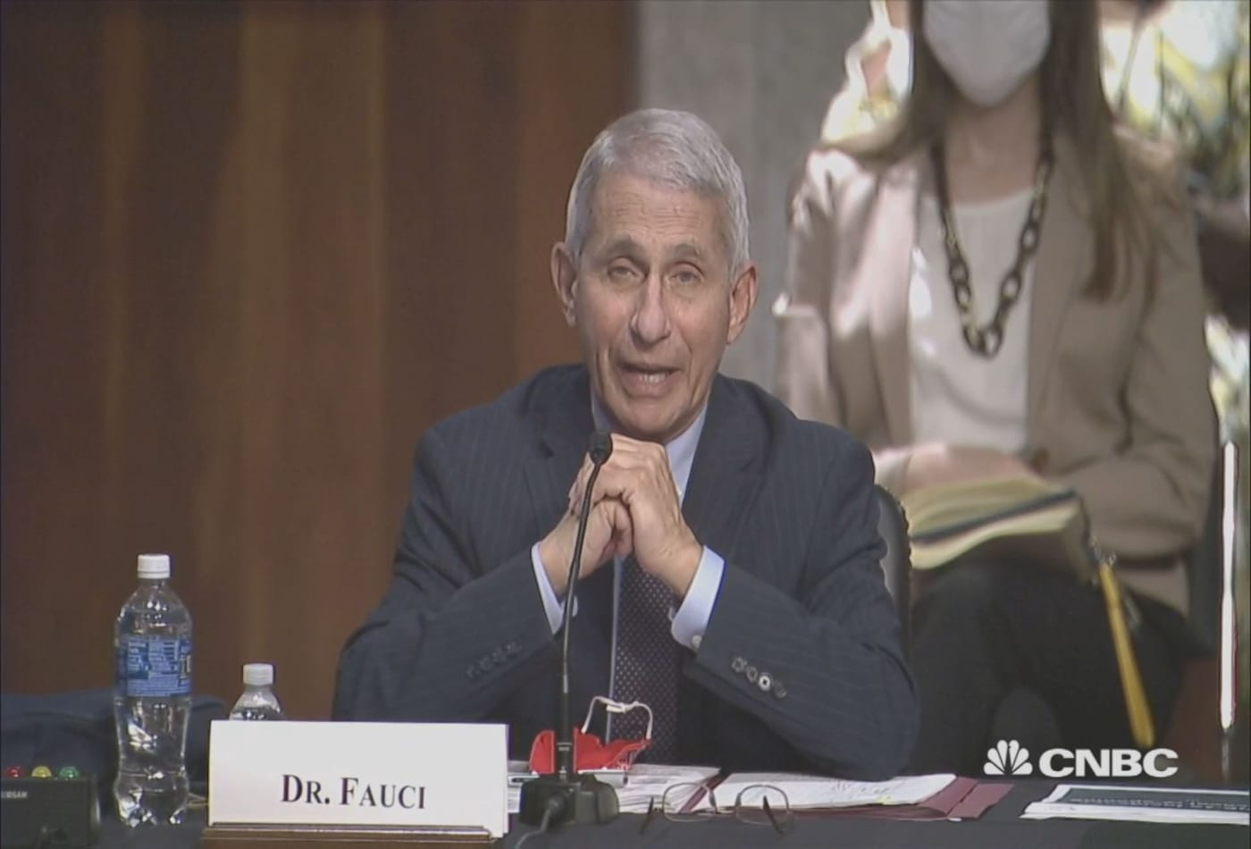 Fauci: New virus in China has traits of 2009 swine flu and 1918 pandemic flu