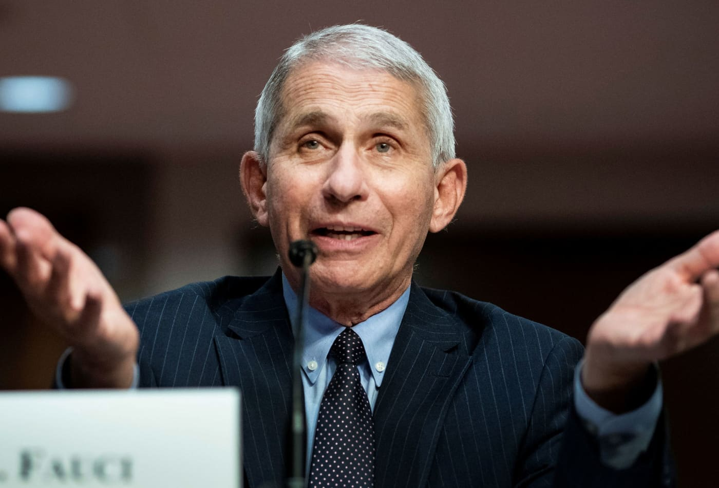 Dr. Fauci says his daughters need security as family continues to get death threats