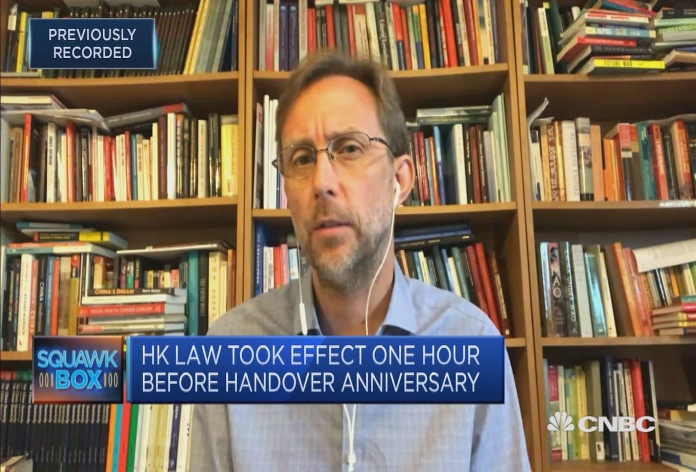 'Too soon' to say Hong Kong has lost its status as a financial hub: Chatham House