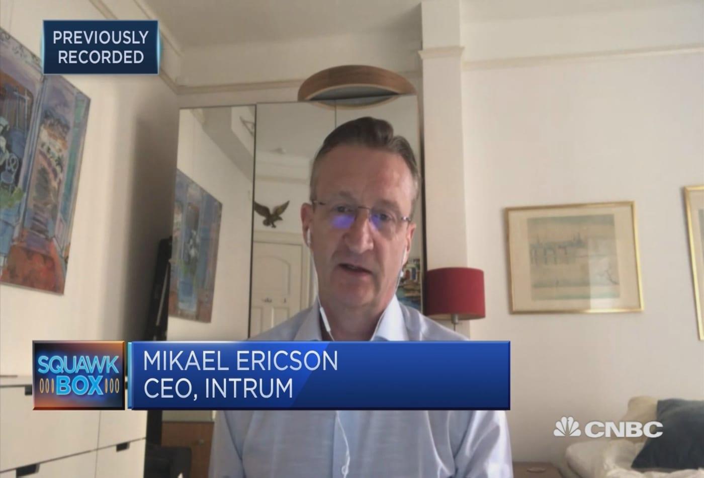 Companies around Europe preparing for a recession, Intrum CEO says