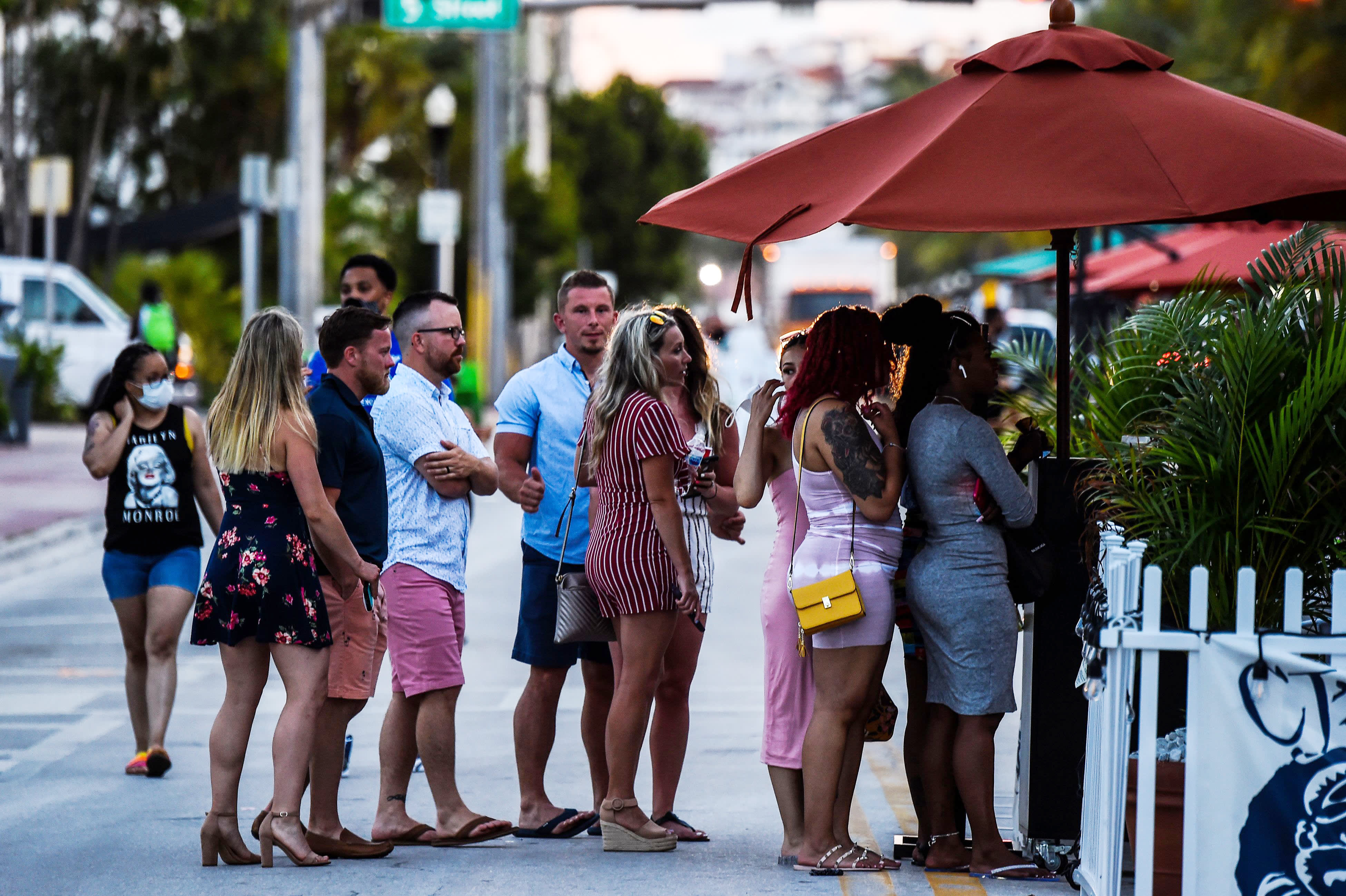 cnbc.com - Emma Newburger - Florida reports more than 11,000 new coronavirus cases, breaking another daily record as Miami imposes curfew