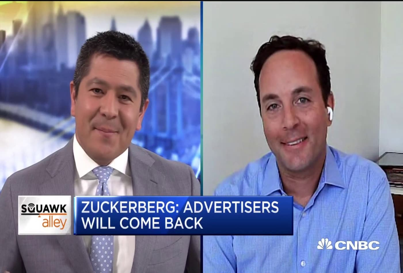 Zillow co-founder Spencer Rascoff on Facebook ad boycott, social media moderation