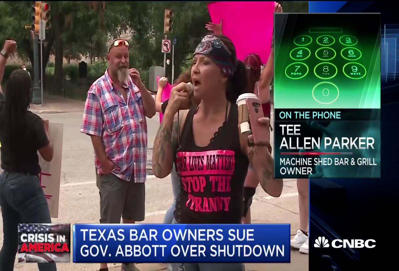 Bars in Texas shut down for second time