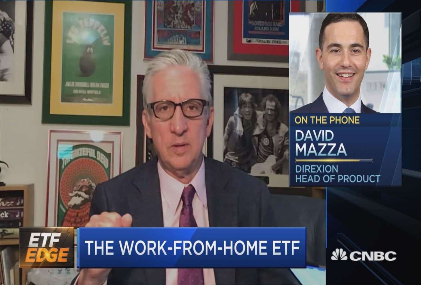 Direxion head of product talks the firm's new work-from-home ETF