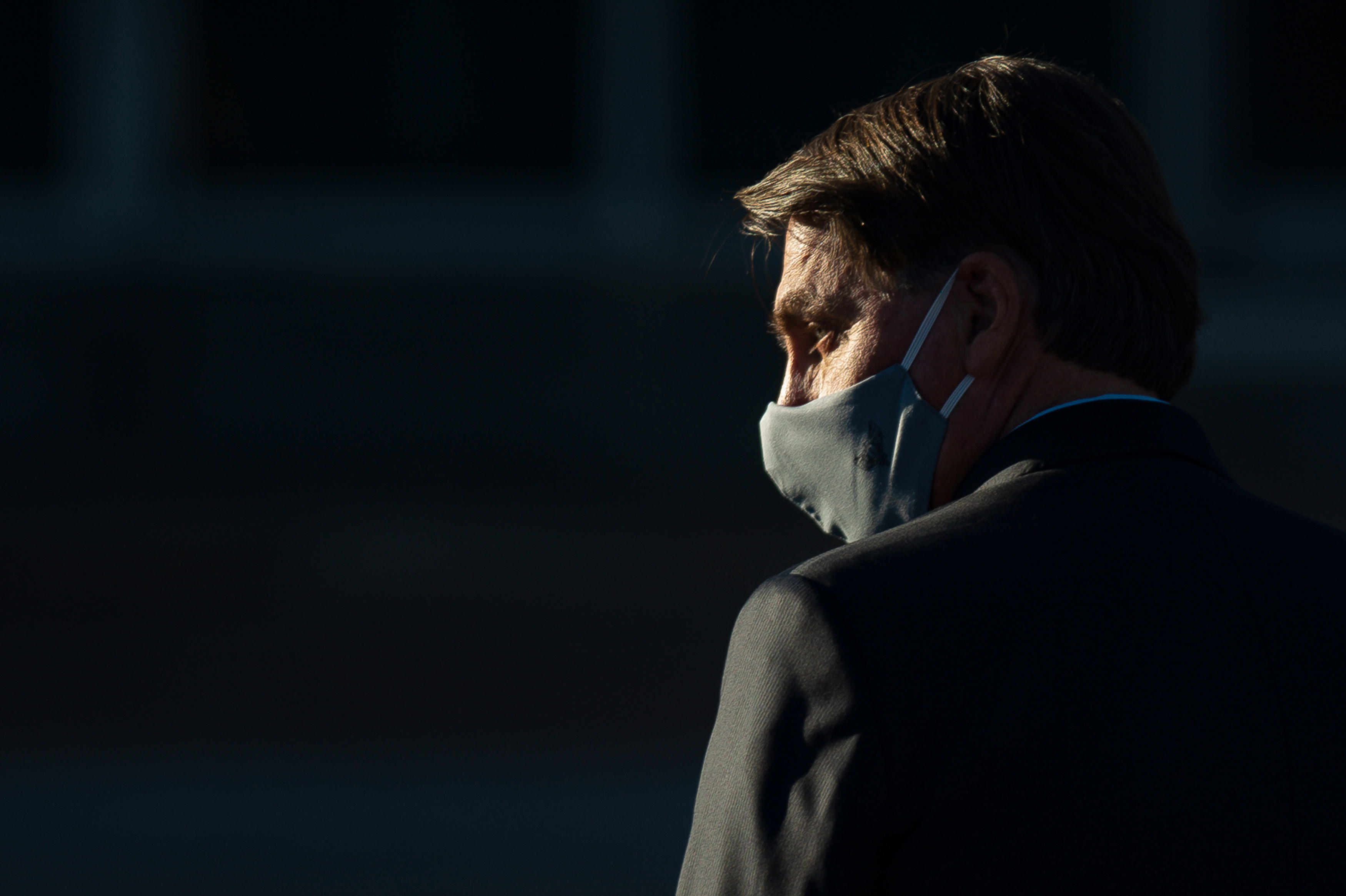 Brazil's Bolsonaro tested for coronavirus after feeling unwell, reporting a high temperature