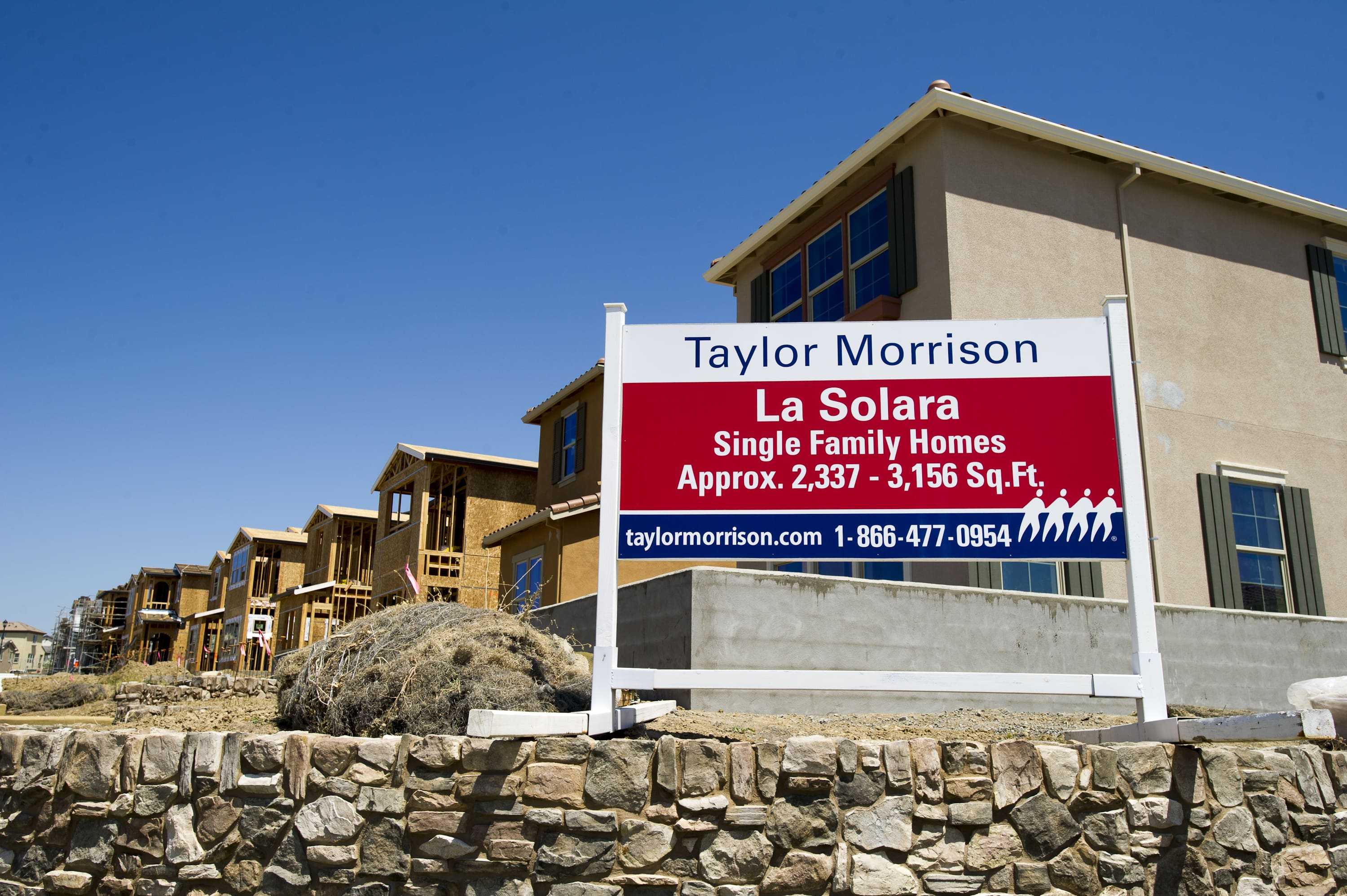 Homebuilder Taylor Morrison reports record June sales