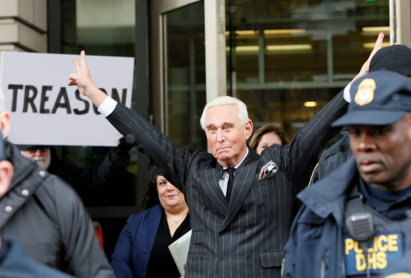 Facebook shuts down pages and accounts tied to GOP operative Roger Stone for posting misinformation