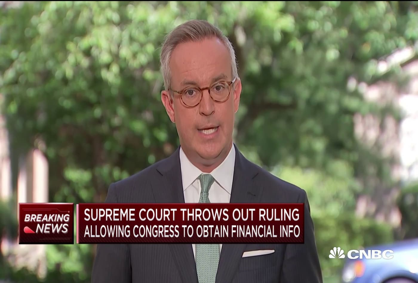 Supreme Court throws out ruling allowing Congress to obtain Trump's financial info