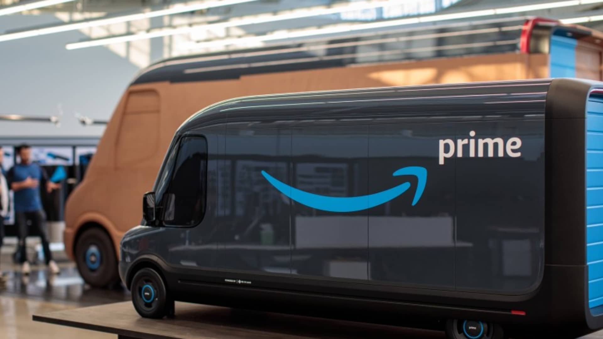 Amazon plans to have 10,000 new electric delivery vans from Rivian on the road as early as 2022 and 100,000 of the vehicles on the road by 2030.