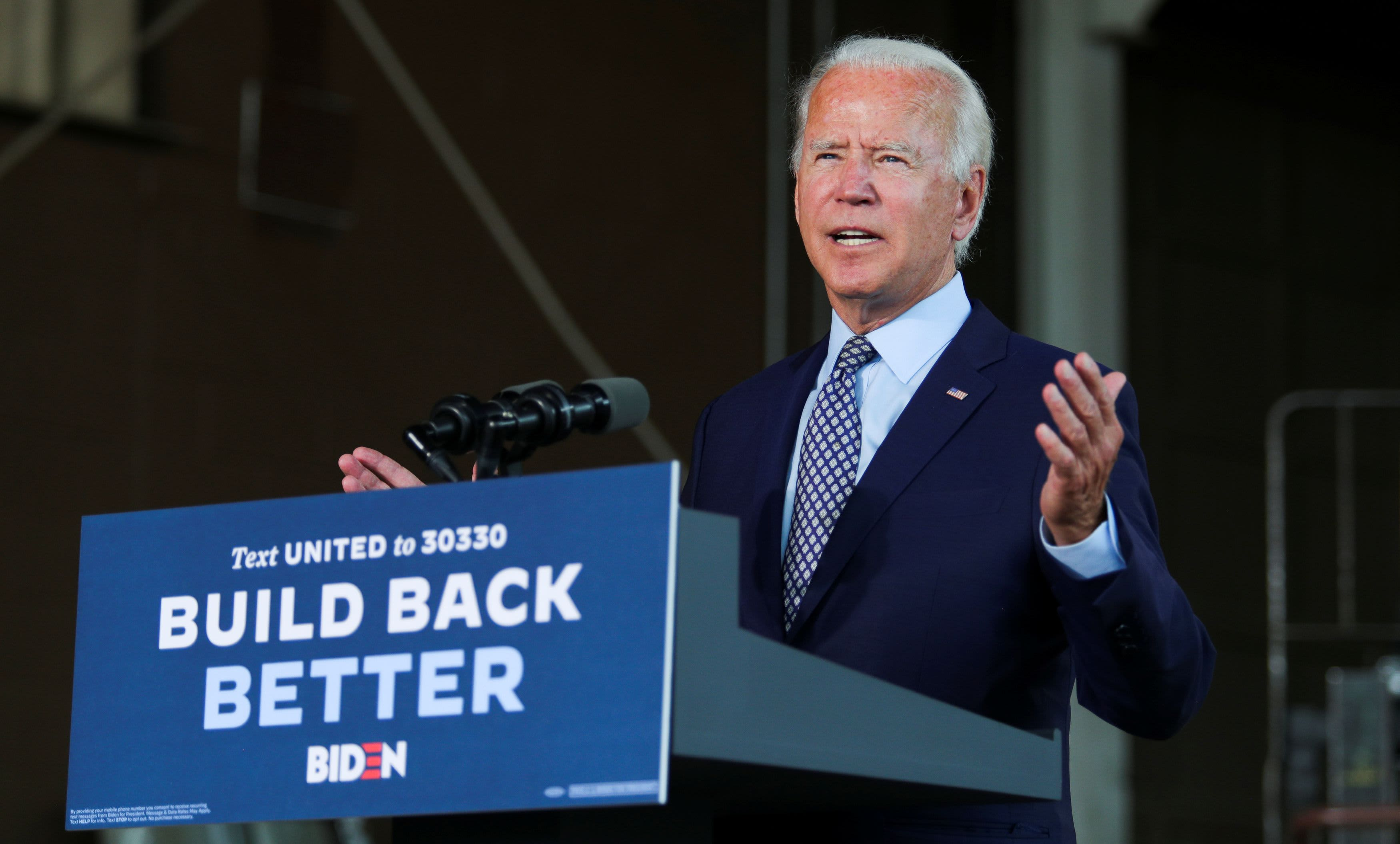 Biden says investors 'don't need me,' calls for end of 'era of shareholder capitalism' - CNBC