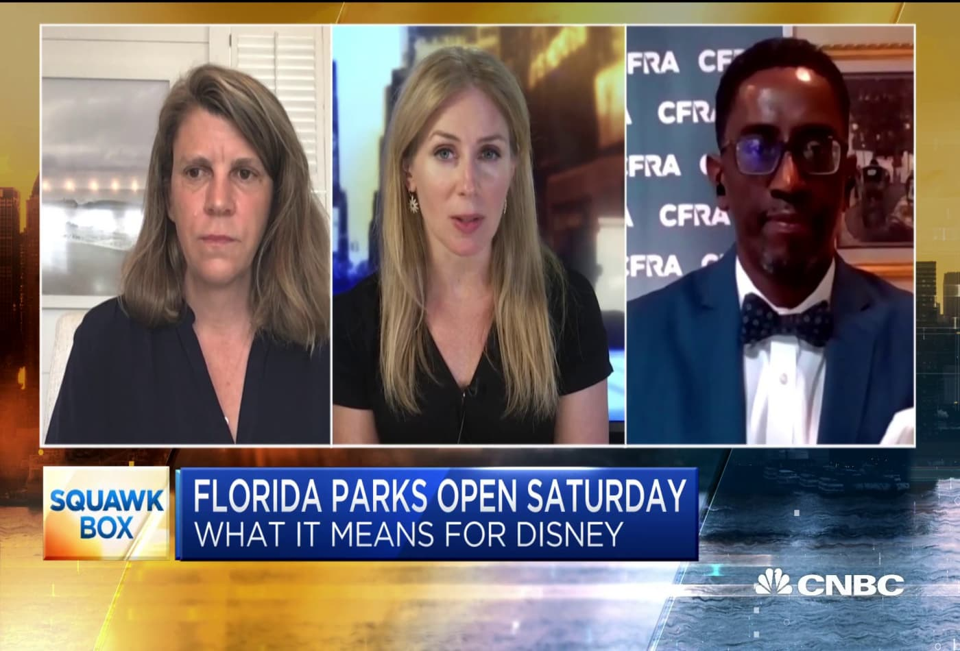 Two media analysts on Disney taking steps to reopen parks in Florida