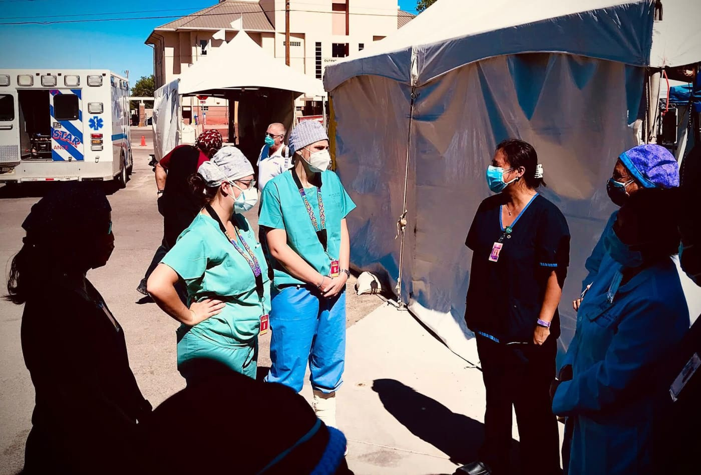 These doctors and nurses volunteered to battle Covid-19 in the Navajo Nation, and came back with a warning
