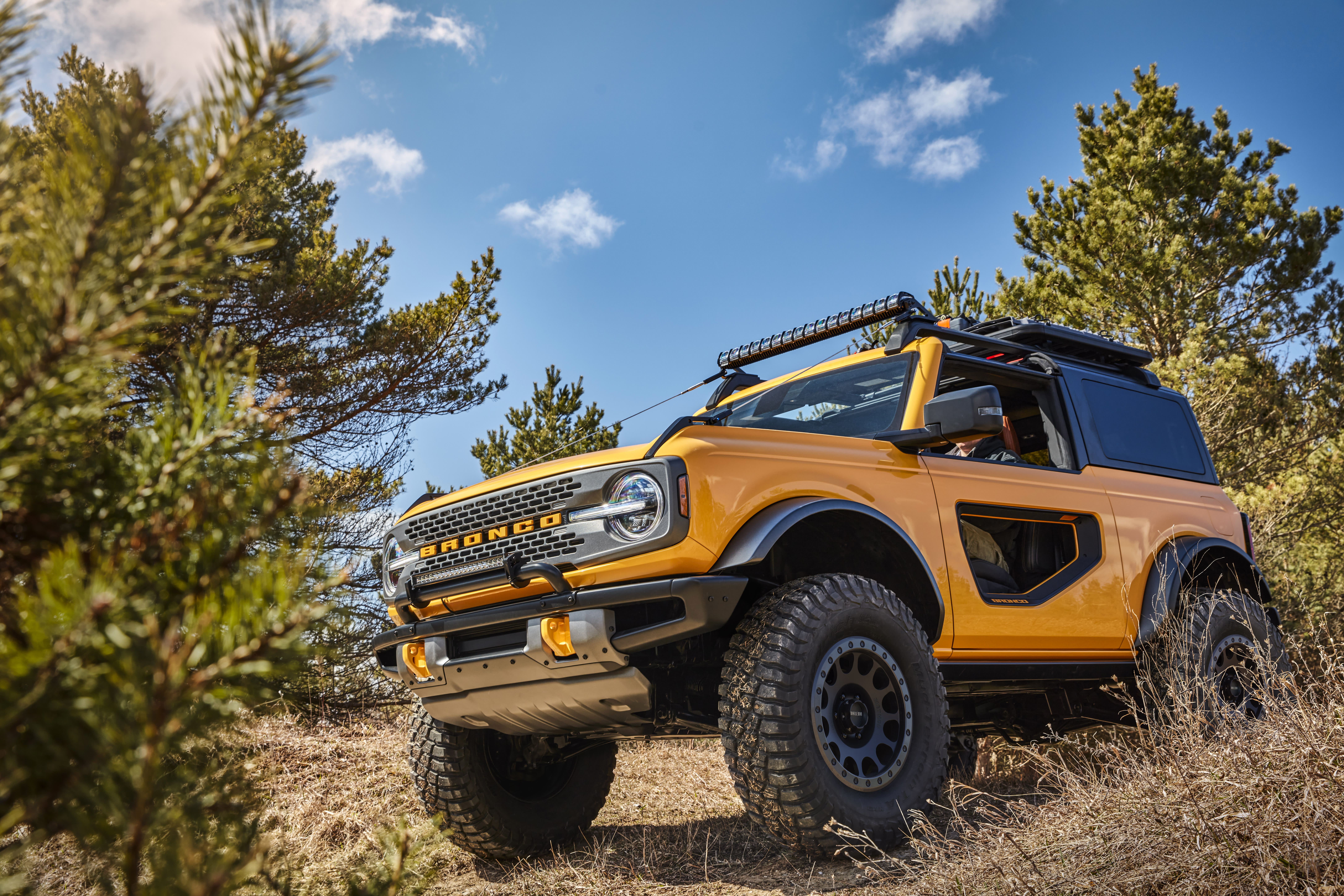 The 2021 Ford Bronco Five Things To Know About The Resurrected Suv