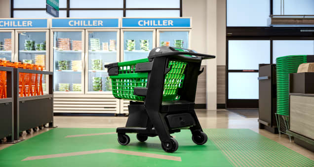 Amazon is rolling out smart grocery carts that let shoppers skip checkout lines