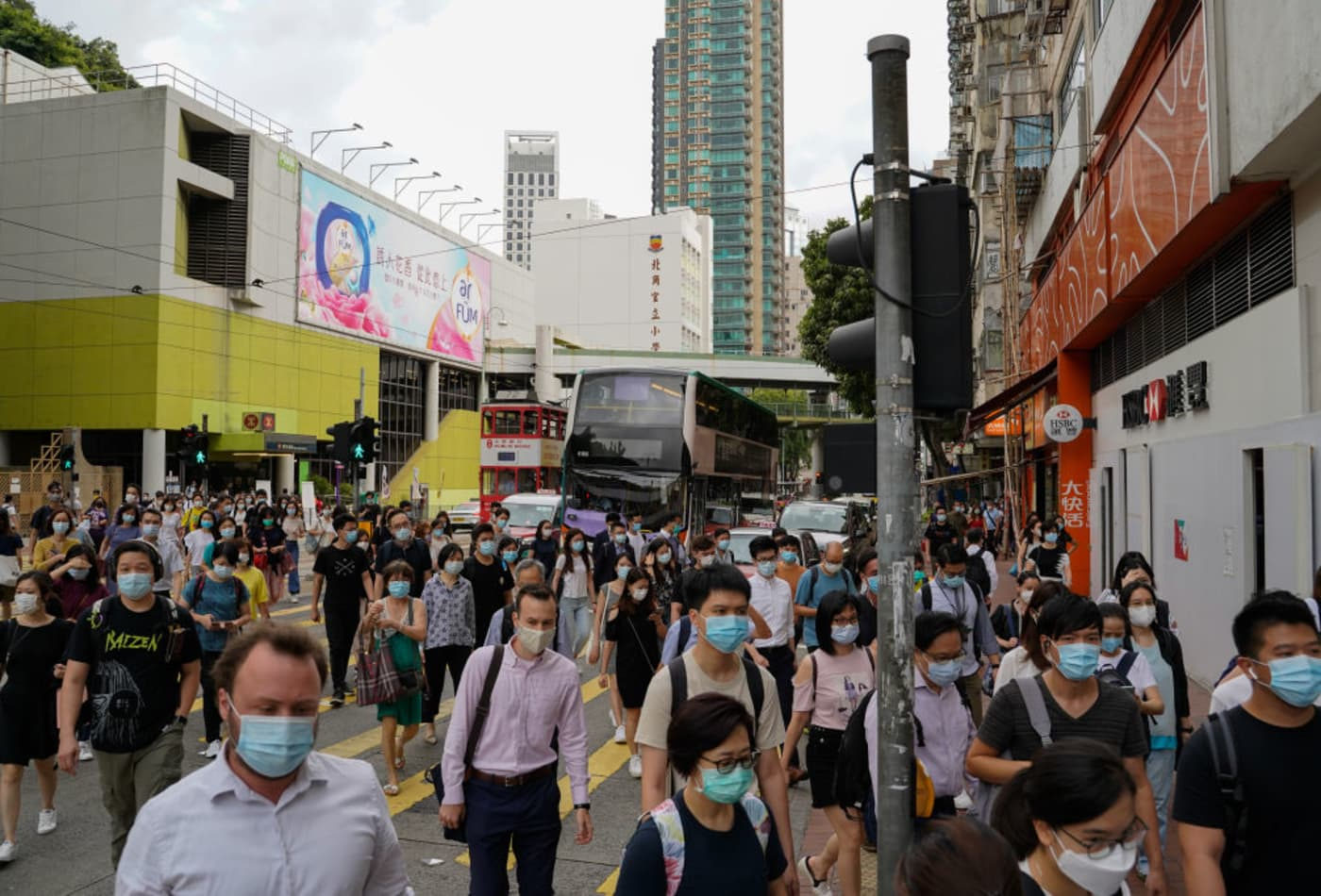 Hong Kong issues arrest warrant for U.S. citizen under new national security law