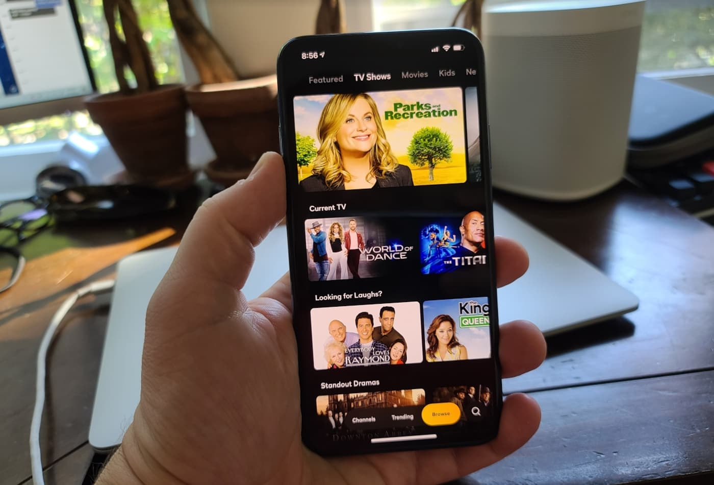 Here's a first look at NBC's streaming service Peacock on iPhone
