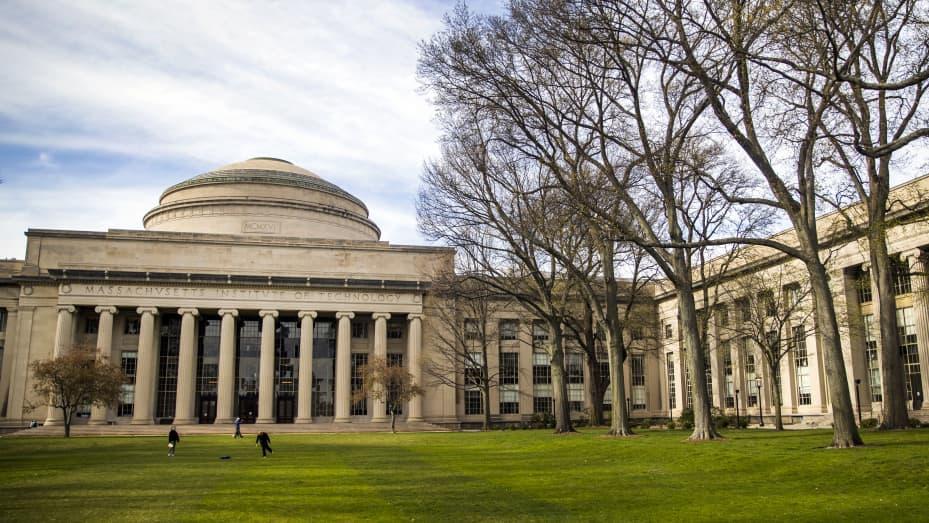 Massachusetts Institute of Technology (MIT) campus in Cambridge, Massachusetts